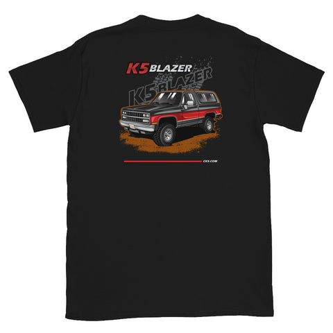 CK5 1989-91 K5 Blazer T-Shirt (two sided design)