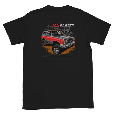 CK5 1983-88 K5 Blazer T-Shirt (two sided design)