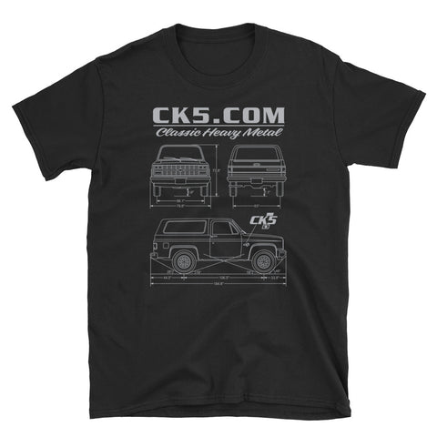 CK5 Blueprint T-Shirt