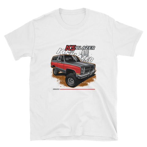 CK5 1983-88 Chevy K5 Blazer T-Shirt White