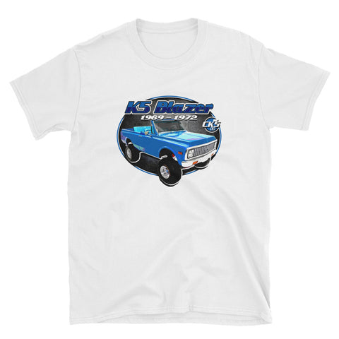 CK5 1969-72 Chevy K5 Blazer T-Shirt White