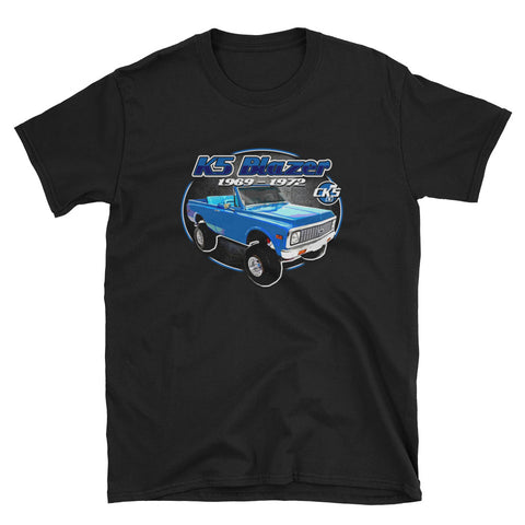 CK5 1969-72 Chevy K5 Blazer T-Shirt Black