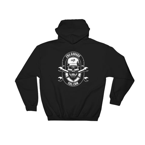 CK5 GARAGE Hooded Sweatshirt (front & back graphic)