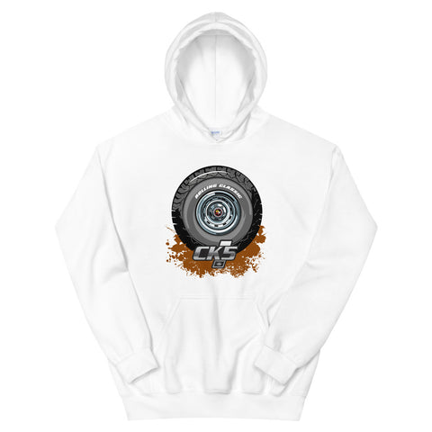 Rolling Classic Rally Wheel Hooded Sweatshirt