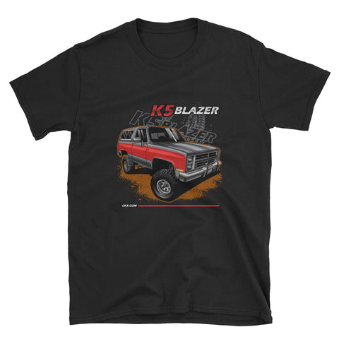 CK5 1983-88 Chevy K5 Blazer T-Shirt Black