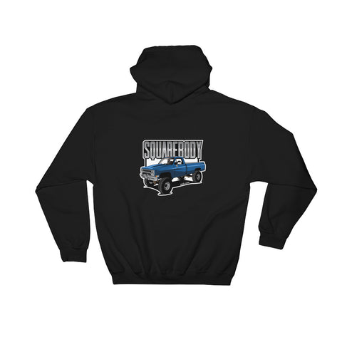CK5 Squarebody K30 Hooded Sweatshirt (two sided design)