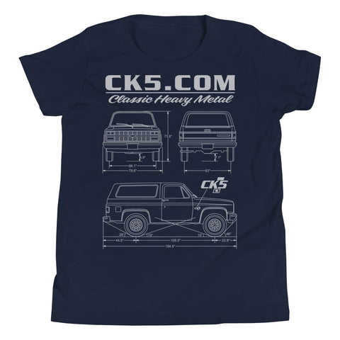 CK5 Blueprint Youth T-Shirt