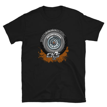 Rolling Classic Rally Wheel T-Shirt