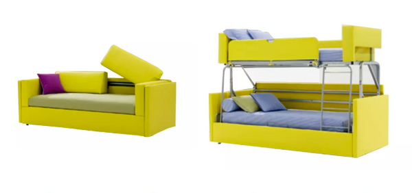 sofa bunk bed by save space furniture
