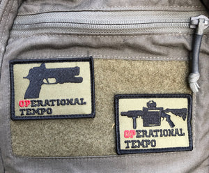 """Operational Tempo"" Patch"