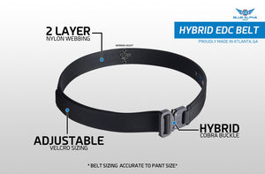 Blue Alpha Gear Hybrid 1.5 EDC Belt