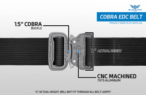 Blue Alpha Gear Cobra EDC Belt