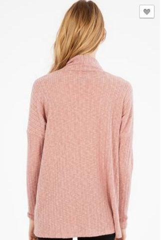 Mock Neck Long Sleeve with cut out