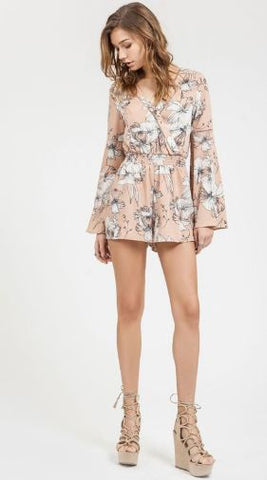 Woven Printed Romper