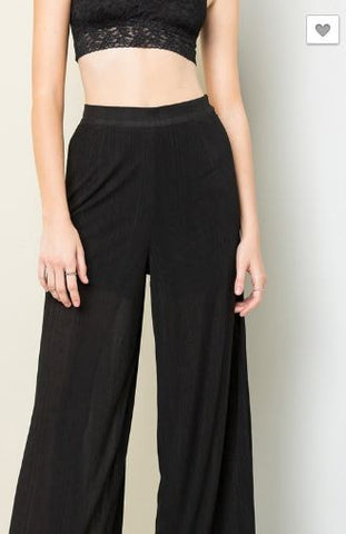 Ribbed High Waisted Pant