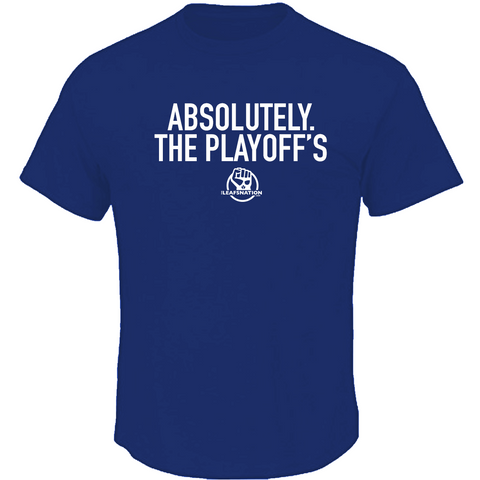 Leafsnation Absolutely the Playoffs tee