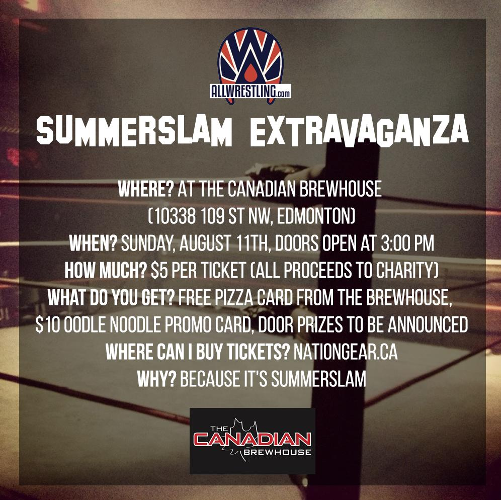 Summerslam 2019 Watch Party