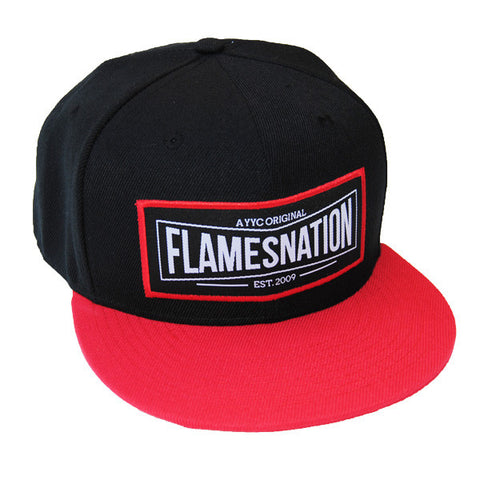 FlamesNation Flat Brim