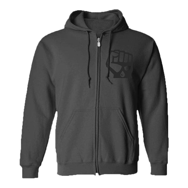 Blackout Zip-up Hoodie
