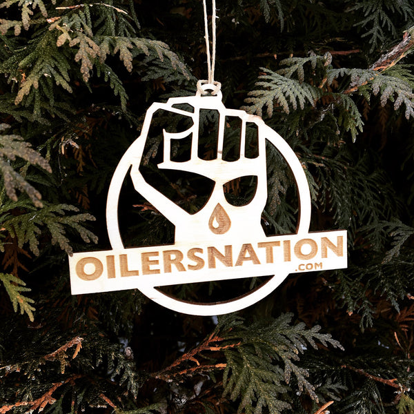 Oilersnation Christmas Ornament