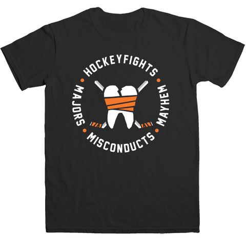 Hockeyfights logo tee