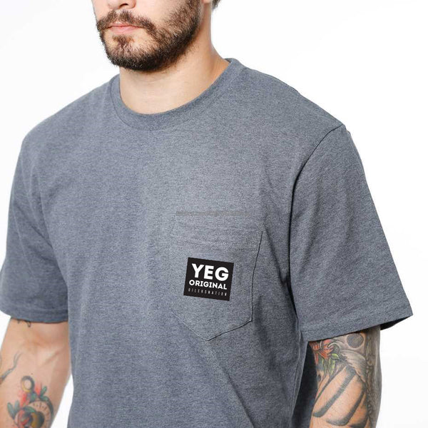 YEG Original pocket tee