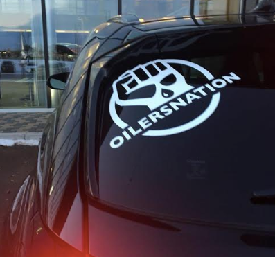 Oilersnation Car Decal