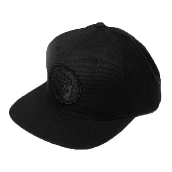 Blackout Fist Snapback