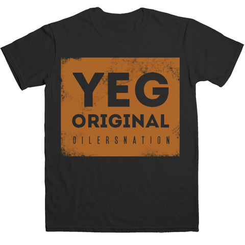 YEG Original tee - Black