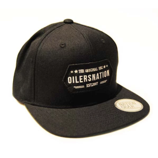 The Original YEG Black Snapback