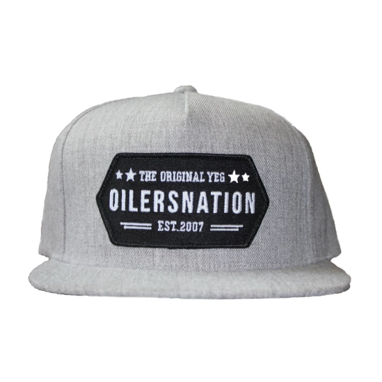 The Original YEG Grey Snapback