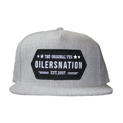 Grey YEG Original Snapback