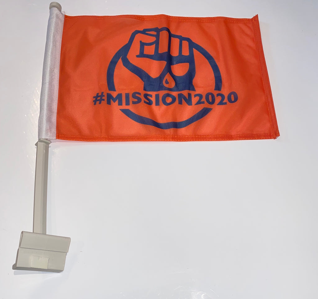 #MISSION2020 Car Flag