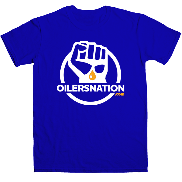 Blue Classic OilersNation Tee