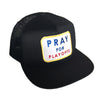 Pray For Playoffs Meshback (Available in Blue and Black)