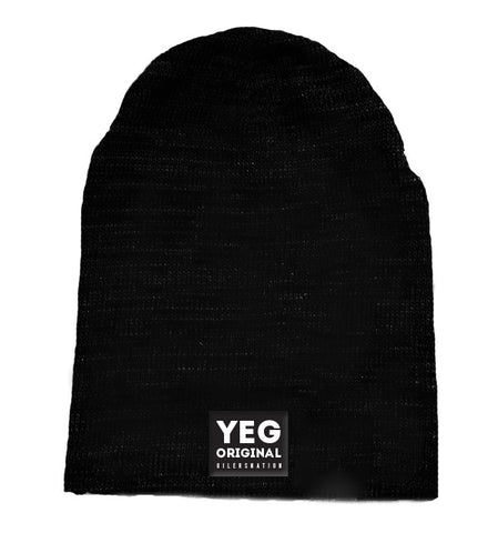 YEG Original slouch toque - Black