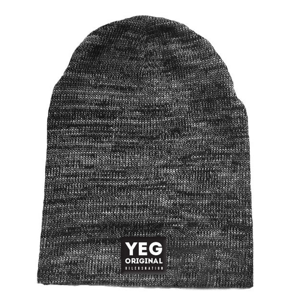 YEG Original slouch toque - Grey