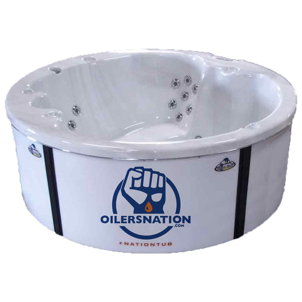 Arctic Spas Oilersnation Hot Tub