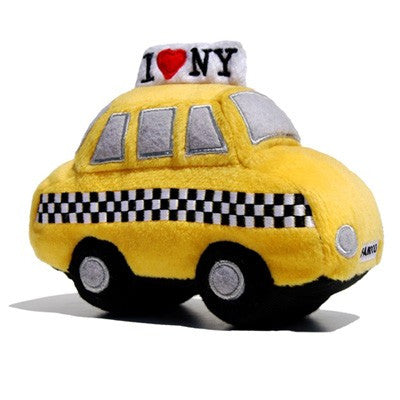 Plush NYC Taxi Toy