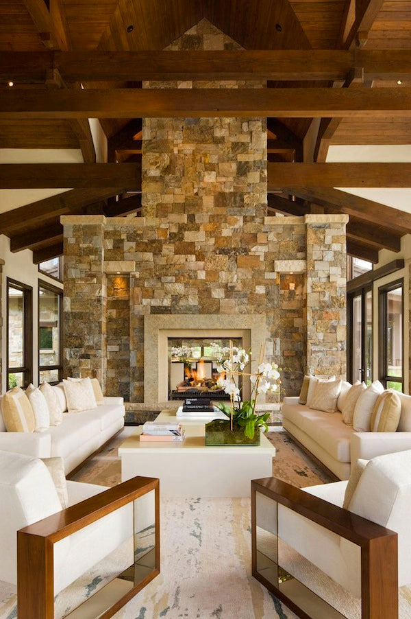 Modern Lodge Style Guide 212 Concept Modern Living