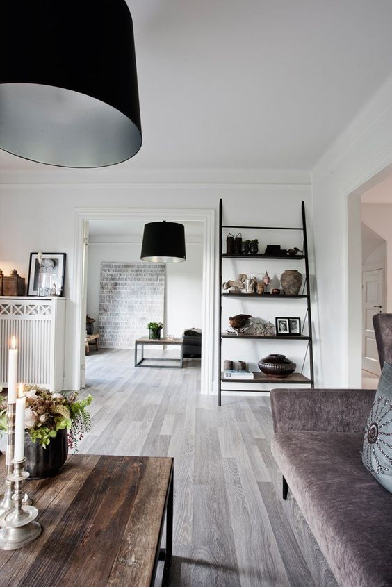 Pin Trend: Grey Floors In Modern Spaces ? 212 Concept - Modern Living Designer Huser Innen