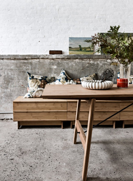 unpretentious style realized in natural bamboo is the hallmark of the  Danish brand We Do Wood  Their classic modern designs boast aesthetic  presence. We Do Wood  Beautiful Bamboo Furniture for Modern Spaces   212