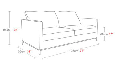 Sofa Seat Height istanbul sofa online | 212concept