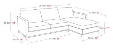 Buy Istanbul Sectional Sofa 212Concept