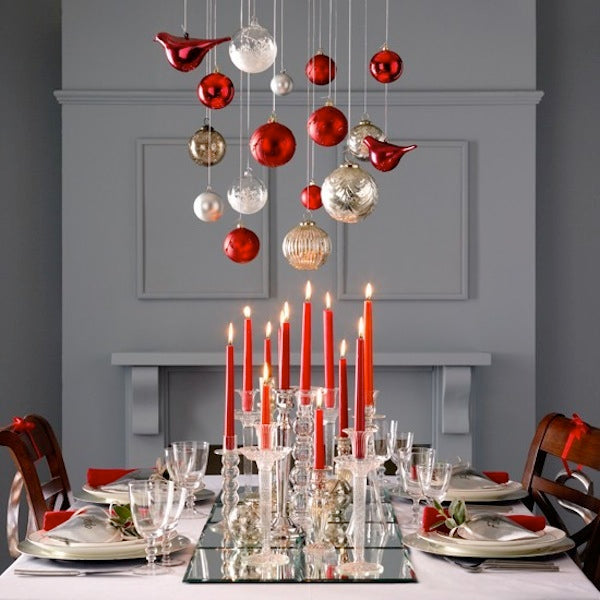 15 modern christmas table setting ideas 212 concept - Idee decoration table de noel ...