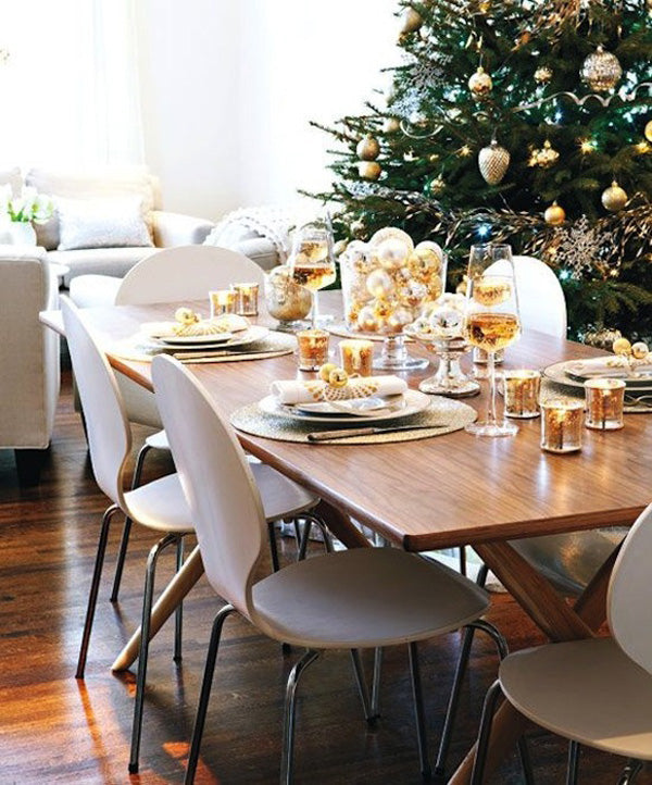 15 modern christmas table setting ideas 212 concept - Modern christmas table settings ideas ...