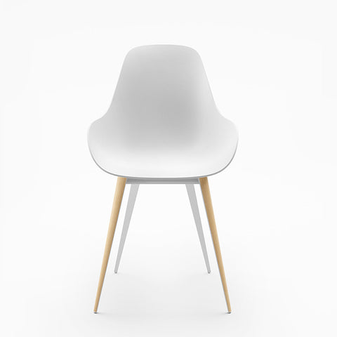 Modern Classic Slice Dimple Chair in White | 212Concept