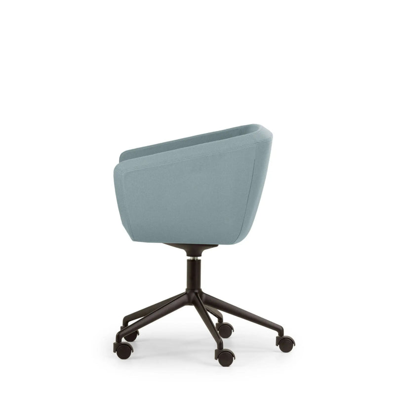 Arca Mini Chair 5-Spoke Aluminium Swivel Base