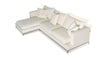 White contemporary sofa