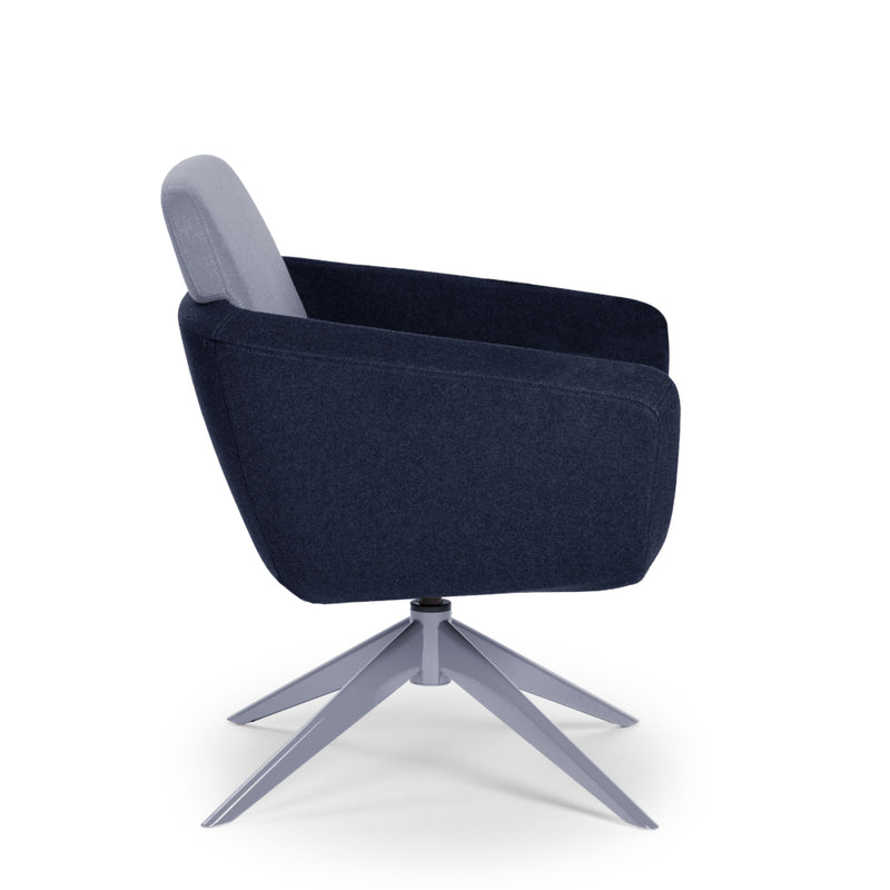 Arca Lounge Mid Back Swivel Chair